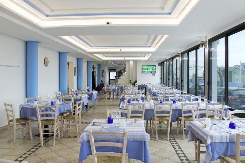 sala ristorante la batana