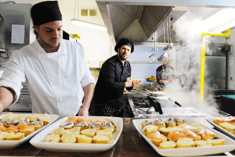 cucina ristorante la batana